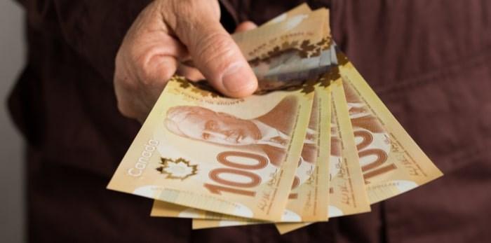 Canadian cash. Vergani Fotografia/Shutterstock.com