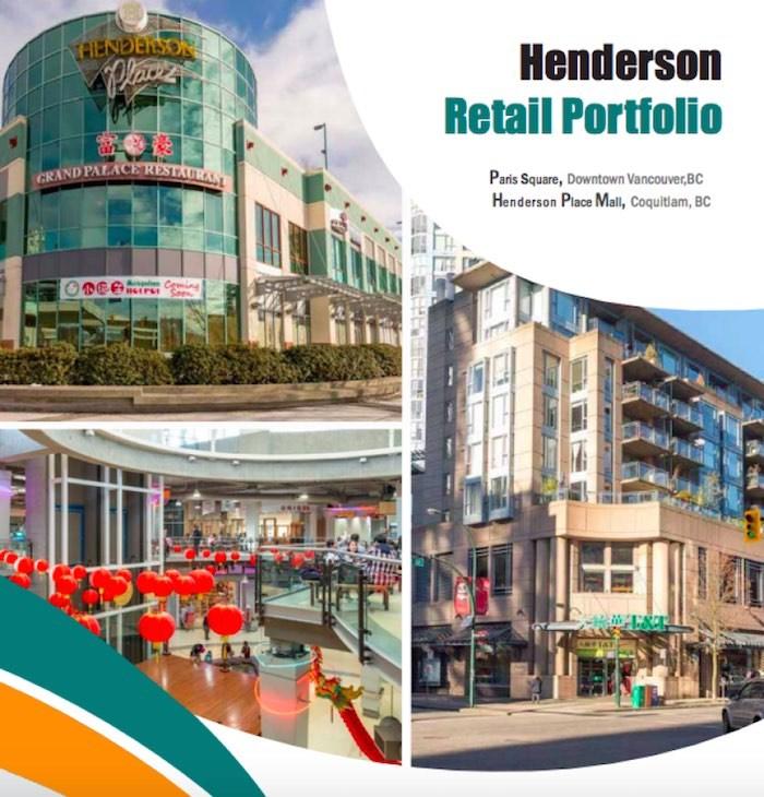 CBRE's Henderson Retail Portfolio, which no longer includes International Village mall. Image via CBRE