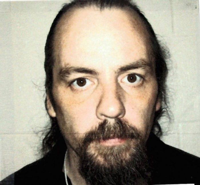 Coquitlam RCMP consider Christopher Joseph Askey, 50, at large after failing to return from a day pass to the Forensic Psychiatric Hospital at Colony Farm. Photo courtesy Coquitlam RCMP