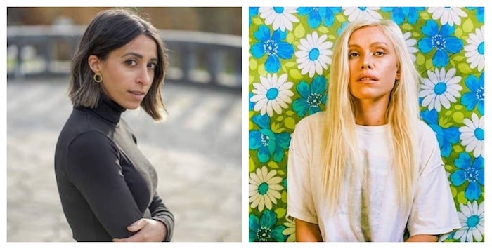 Left: Photo by @allyfotografymediaco via @randasalloum/Instagram, Right: Photo via Emily Rowed Facebook