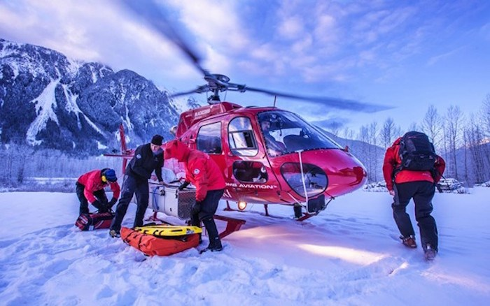 Pemberton Search and Rescue prepare to attend a call. Photo by Dave Steers.