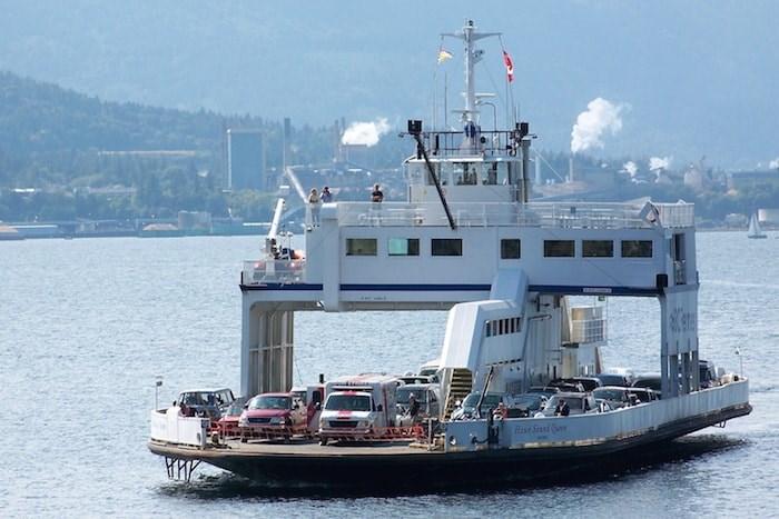 MV Howe Sound Queen. Photo by