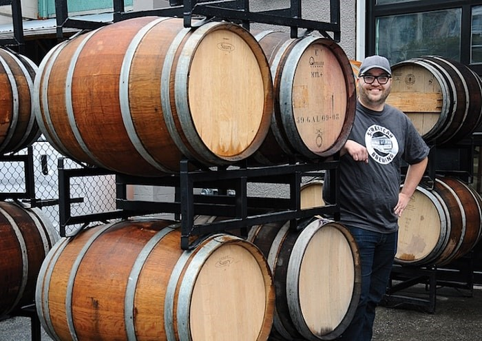 Simon Koldky, founder of the soon-to-be-opened Streetcar Brewing in North Vancouver, is toasting the City of North Vancouver council for cutting red tape for breweries looking to open lounges. Photo by Cindy Goodman/North Shore News