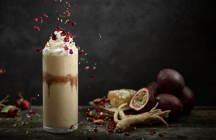 Food Photography, Clinton Hussey; Food Stylist, Joanne Strongman. Photo courtesy Shift Shakes
