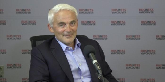 Frank Giustra. Screenshot via Business In Vancouver