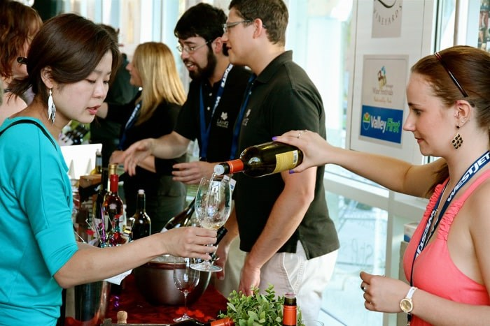 Okanagan Spring Wine Festival runs May 3-12 throughout the Okanagan Valley. Photo courtesy Okanagan Wine Festivals