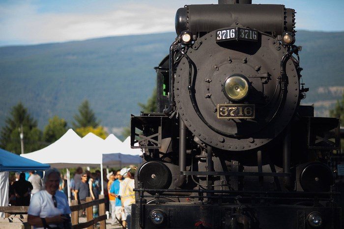 Kettle Valley Heritage Steam Train. Photo by Darren Hull