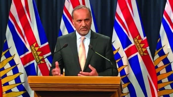 Labour Minister Harry Bains plans to introduce the changes to the Employment Standards Act. Photo Government of Canada