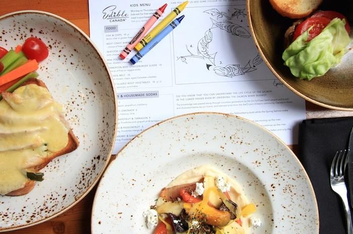 Kids Eat Free Monday through Thursday at Edible Canada in Vancouver. Photo courtesy Edible Canada.