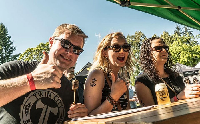 Photo: The Fort Langley Beer & Food Festival