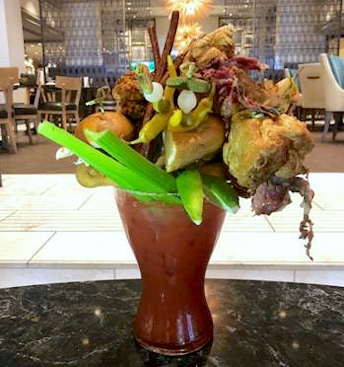 The Anniversary Caesar at Notch8 at the Fairmont Hotel Vancouver is available for one day only. Photo courtesy Fairmont.