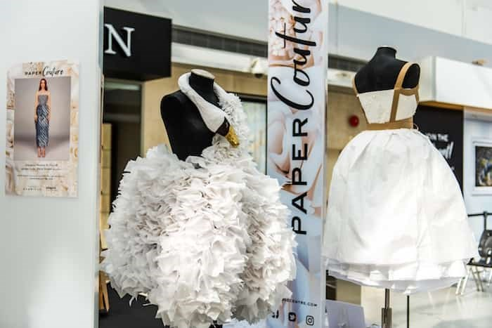 The Paper Couture Exhibition.