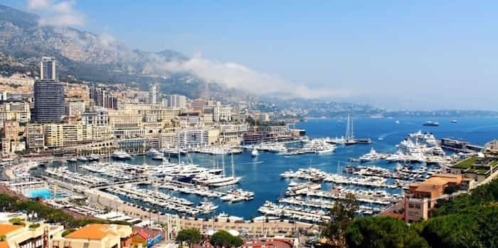 A view of Monaco's main harbour. This European resort city has among the most expensive real estate in the world.