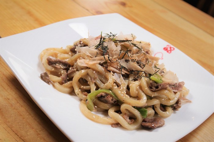 Yaki Udon at Guu with Garlic in Vancouver. Photo by Nick Coffin.