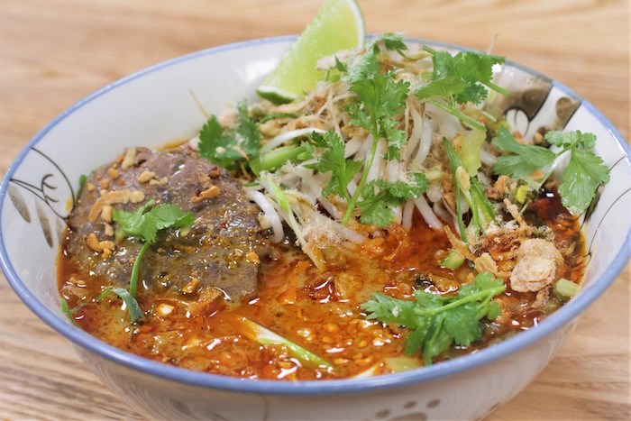 Beef Laksa at Fat Mao. Photo by Nick Coffin.