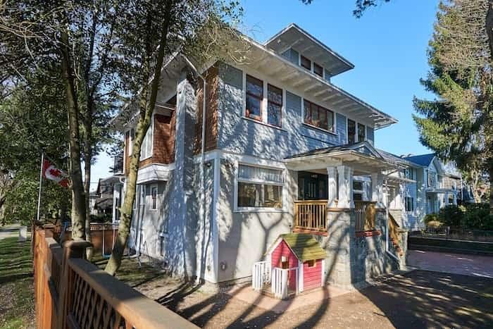 Granville House Montessori School on Granville Street. Photo Martin Knowles