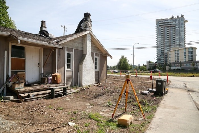 The District of North Vancouver is going to court this Friday to ask for an injunction forcing the owner of this home at 750 Forsman Ave. to move out so the Lower Lynn Highway Interchange project can proceed. Photo by Kevin Hill/North Shore News