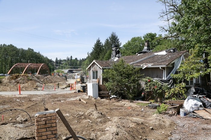 The property at 750 Forsman Ave. Photo by Kevin Hill/North Shore News