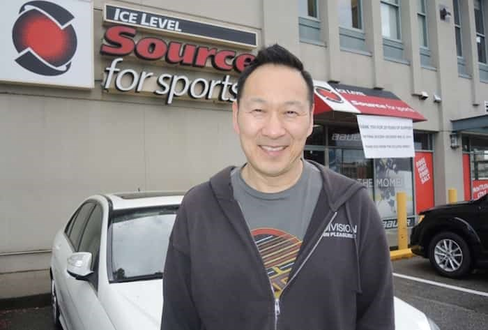 Ice Level Sports co-owner Russ Jung says he will be sad to let the 28-year-old business go, but happy to finally get a weekend off. Alan Campbell photo