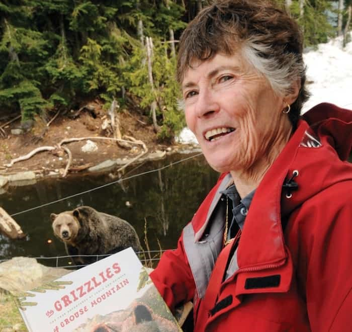 Rae Schidlo has written a new children's book, The Grizzlies of Grouse Mountain, The True Adventures of Coola and Grinder, with Shelley Hrdlitschka and illustrator Linda Sharp.