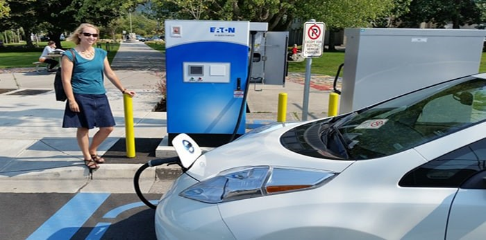 High gas prices and new federal rebate driving more British Columbians to put in orders for electric vehicles. BIV