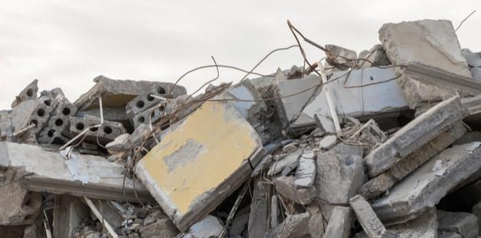 Building rubble/Shutterstock