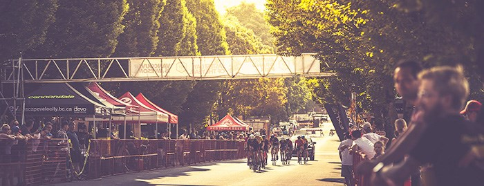 A view from last year's finish line. Photo: TLB Velo