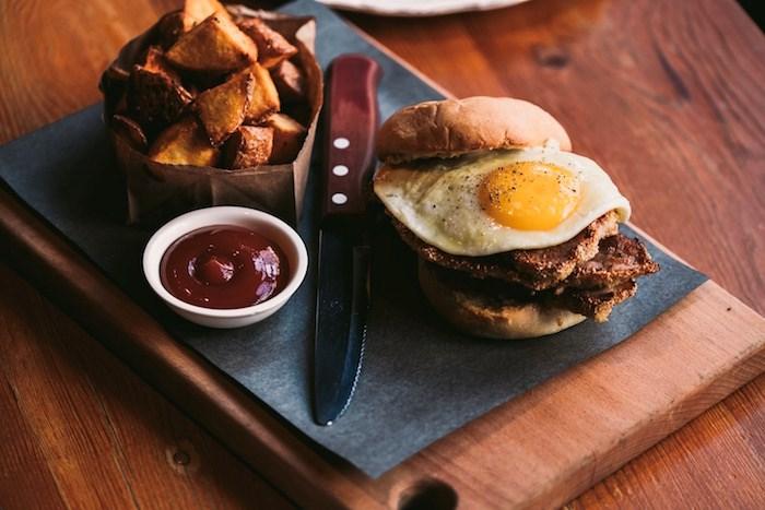 Peameal Bacon Sandwich. Photo courtesy Pourhouse.