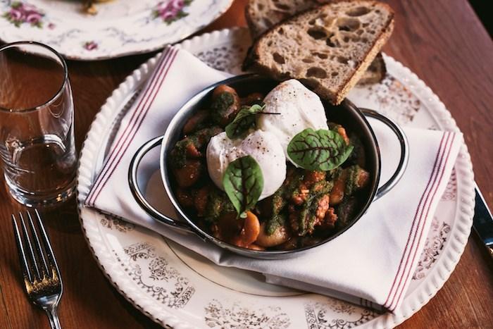 Cotechino Sausage and Beans. Photo courtesy Pourhouse.