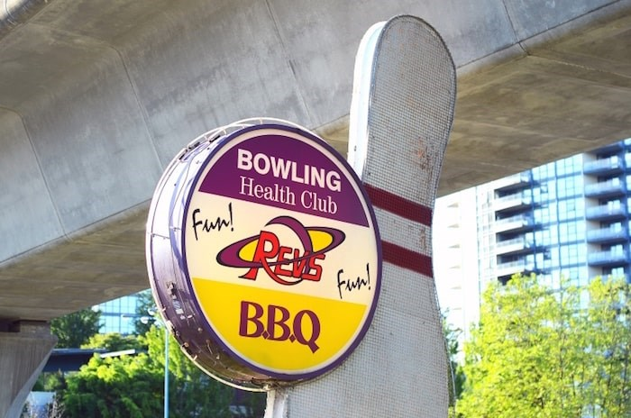 REVS Bowling Centre on Lougheed Highway sits on a piece of land worth more than $86 million. The property was at the centre of a high-stakes real-estate deal
