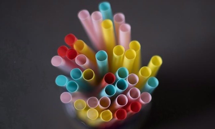 Plastic straws are pictured in North Vancouver, B.C. on Monday, June 4, 2018. The federal government will announce a plan Monday to ban harmful single-use plastics such as drinking straws as early as 2021. THE CANADIAN PRESS Jonathan Hayward