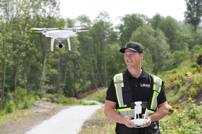 Jon Ross shoots drone footage for the tourism industry, the film and television industry, live events, music videos and realtors — and it can be a hassle. Photo by Jennifer Gauthier/Vancouver Courier