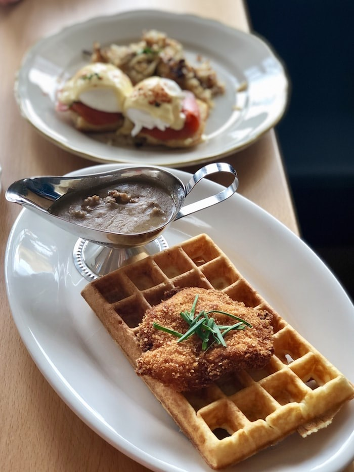 Chicken & Waffles. Photo by Lindsay William-Ross/Vancouver Is Awesome