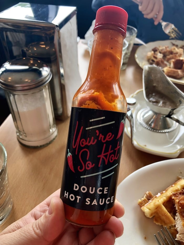 Housemade hot sauce. Photo by Lindsay William-Ross/Vancouver Is Awesome