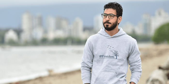 Hassan Al-Kontar moved to Kitsilano in mid-May after spending his first few months in Canada living in Whistler. He'd previously spent nine months in limbo: seven in the Kuala Lumpur International Airport and two in a detention centre.