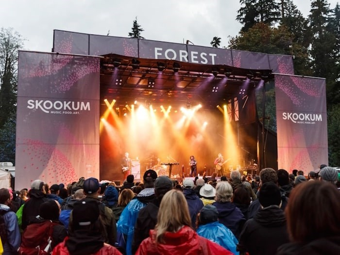 Vancouver Park Board Monday approved the return of Skookum Music Festival to Stanley Park in 2020. Photo by Jonathan Evans