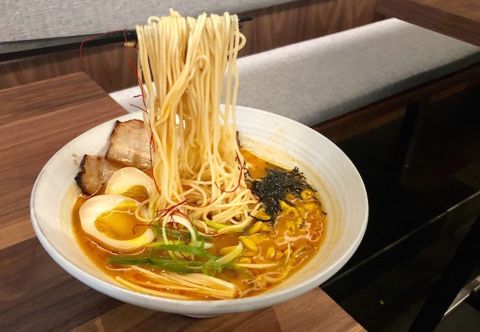 Spicy Miso Ramen at Hachiro Ramen Bar. Photo by Lindsay William-Ross/Vancouver Is Awesome