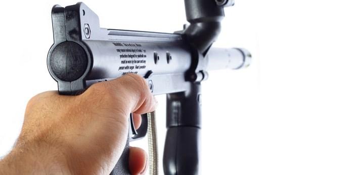 Paintball gun/Shutterstock