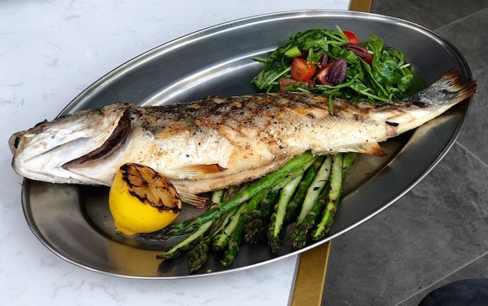 Whole Branzino. Photo by Lindsay William-Ross/Vancouver Is Awesome