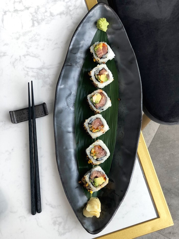 From the sushi menu. Photo by Lindsay William-Ross/Vancouver Is Awesome