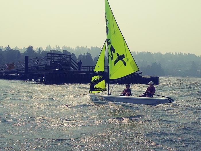 Photo: MacSailing Sailing Lessons