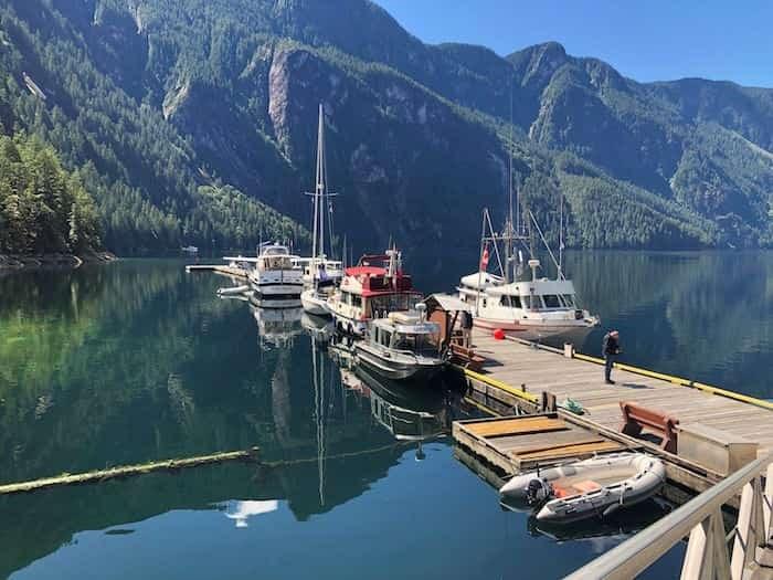 Princess Louisa Inlet dock Photo: Elana Shepert / Vancouver Is Awesome