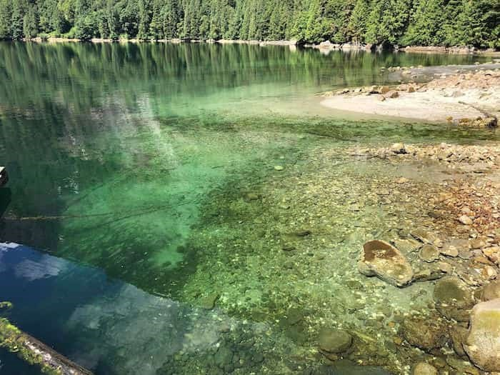 Princess Louisa Inlet water Photo: Elana Shepert / Vancouver Is Awesome