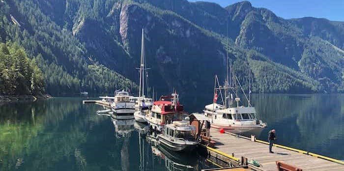 Princess Louisa Inlet dock Photo: Elana Shepert / Vancouver Is Awesome