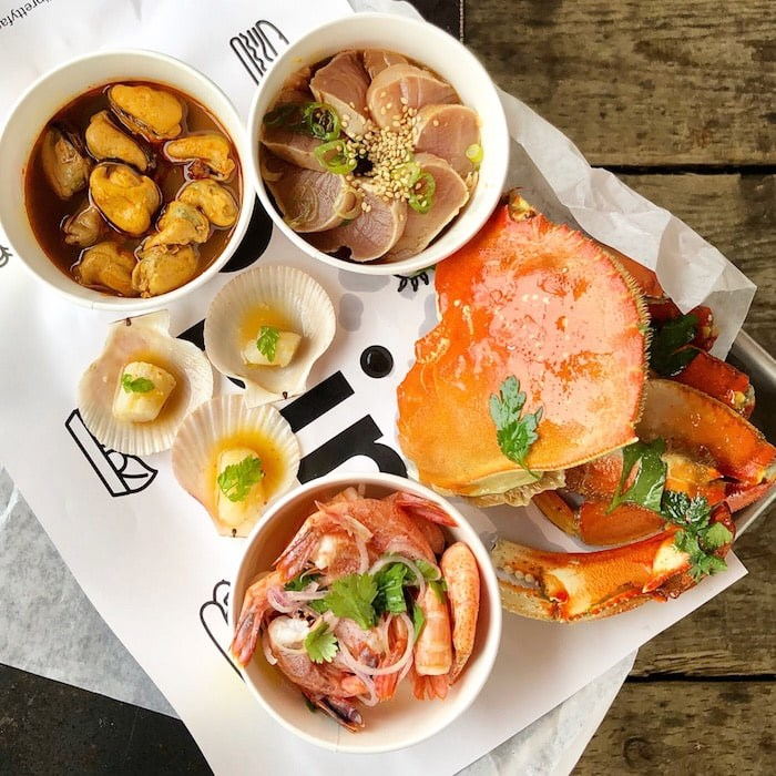 The gorgeous Seafood Tray at Popina. Photo by Lindsay William-Ross/Vancouver Is Awesome