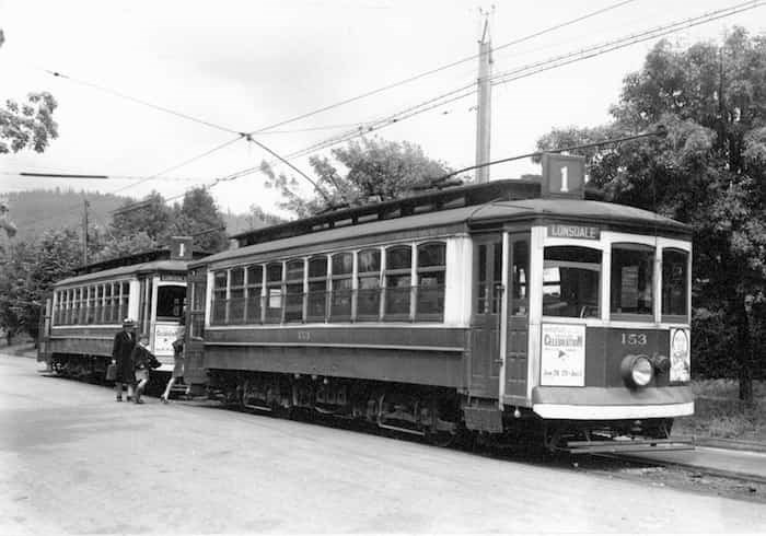 Once thought to be lost, transit historian Brian Kelly sleuthed out the abandoned piece of history. Photo: supplied by North Vancouver Museum and Archives