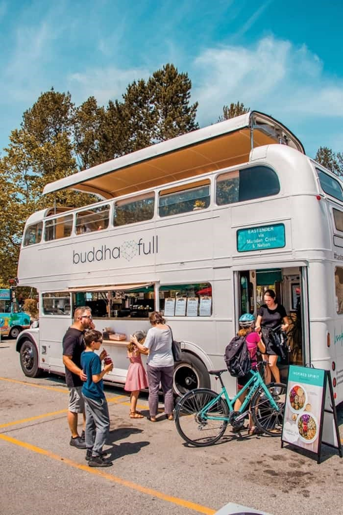 The Buddha-Bus includes a hydraulic roof which can be raised during warm weather. - Supplied, Buddha-Full