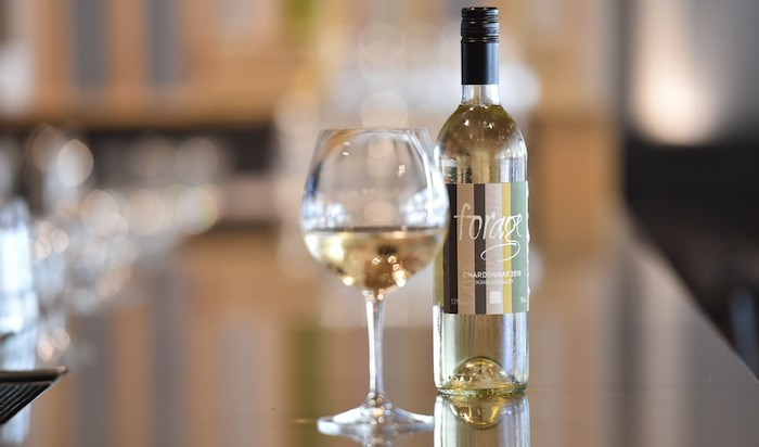 Forage restaurant partnered with West Kelowna's Niche Wine Co. on a private label Chardonnay. Photo by Dan Toulgoet/Vitis