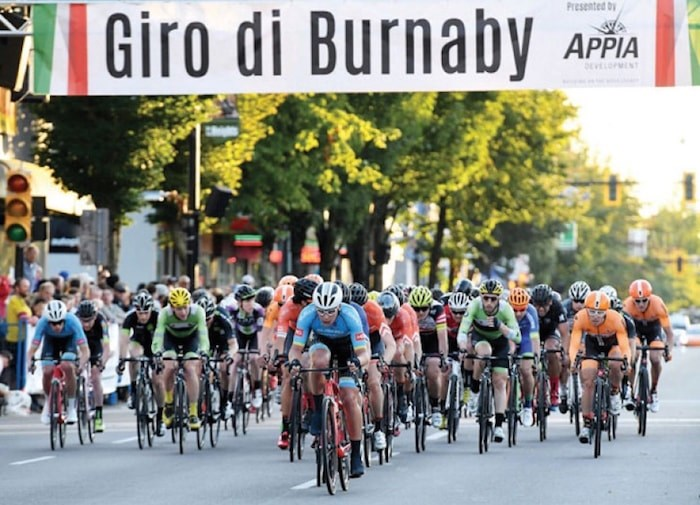 Giro di Burnaby. File photo/Burnaby NOW