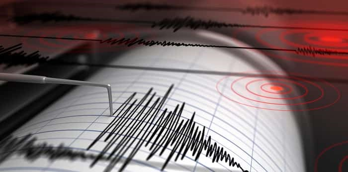 Seismograph with paper in action / Shutterstock